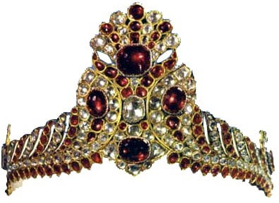 Fath Ali Shah's Hat Decoration