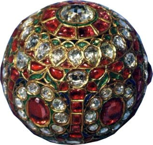 The Jewel Studded Sphere