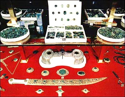 More loose emeralds among the Iranian Crown Jewels