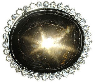 The Black Star of Queensland,Famous Black Sapphire Gemstone