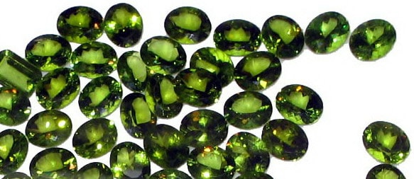 More Cut Peridots of High Quality from Pakistan