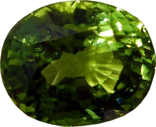 Another Cushion Cut Peridot from Pakistan
