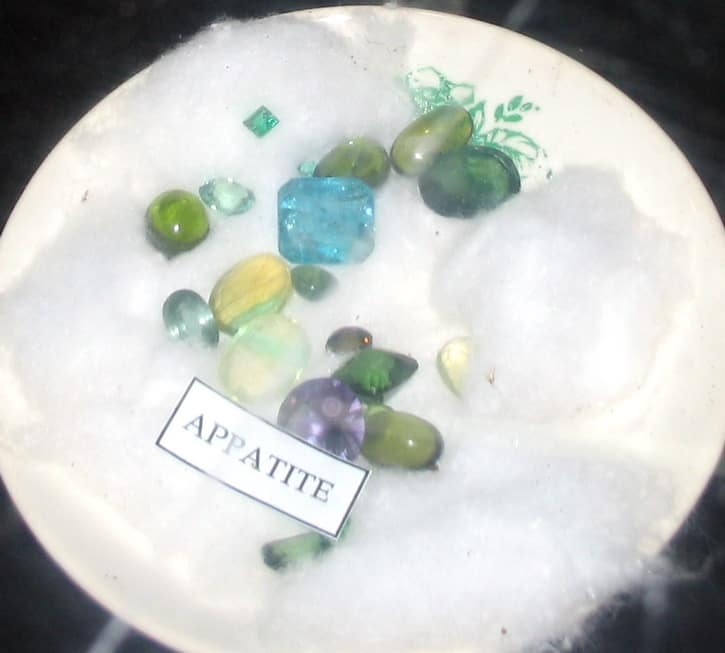 Faceted Apatite Gemstones