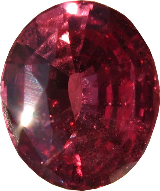 A Unique oval Cut Padparascha Gemstone from Sri Lanka