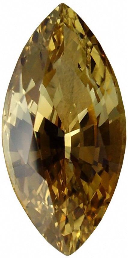 Marquise Cut Sinhalite Gemstone
