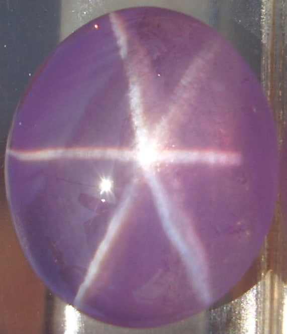 A Natural Pink Star Sapphire from Ceylon
