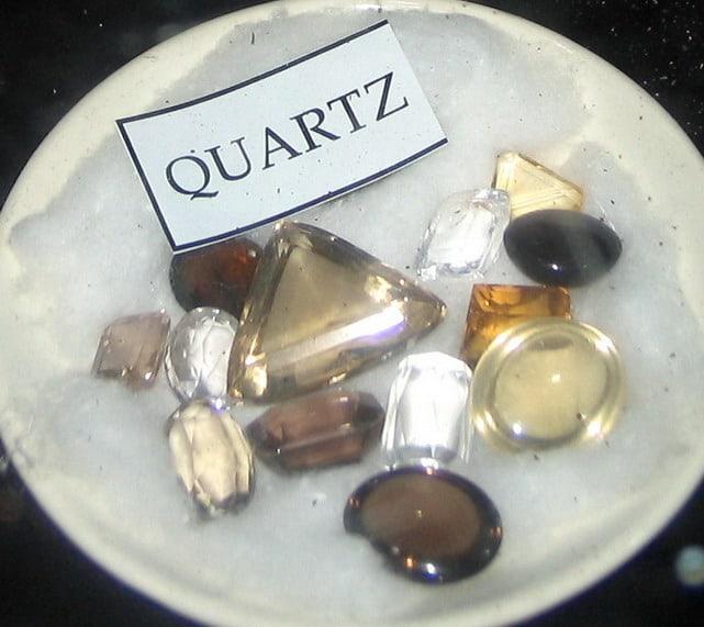 Ceylon Quartz Gemstones