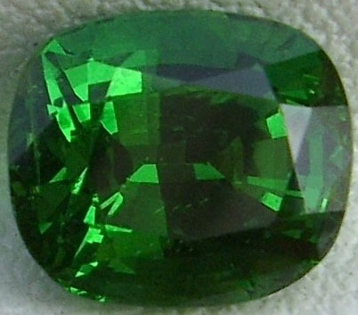 Cushion Cut Tanzanian Tsavorite Garnet