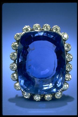 Logan Blue Sapphire, World's 2nd Largest Blue Sapphire