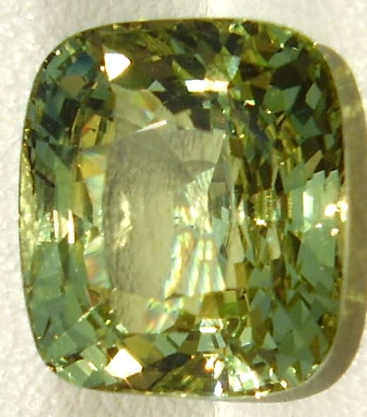 Ceylon Cushion Cut Chrysoberyl