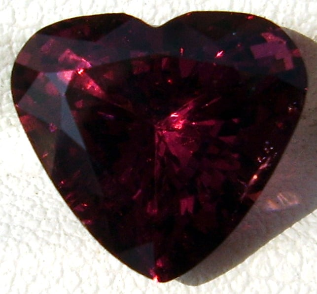 Heart Shape Cut Red Spinel