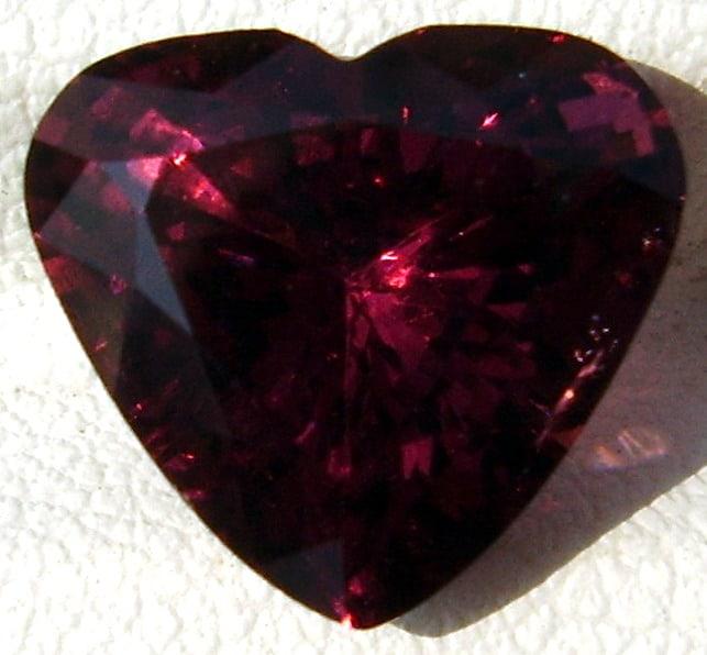 Heart Shape Cut Red Spinel