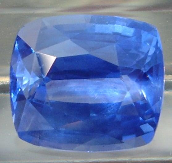 Cushion Cut Ceylon Blue Sapphire