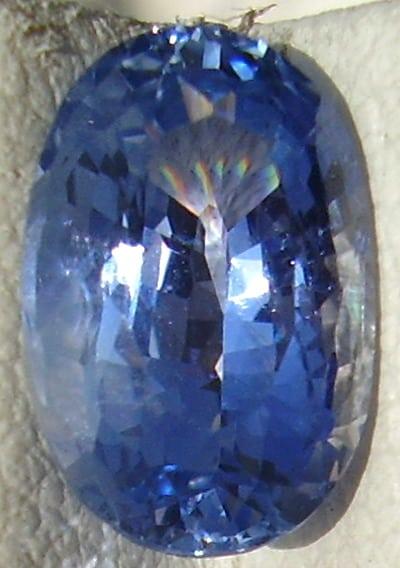 Cushion Cut Ceylon Blue Sapphire Gemstone