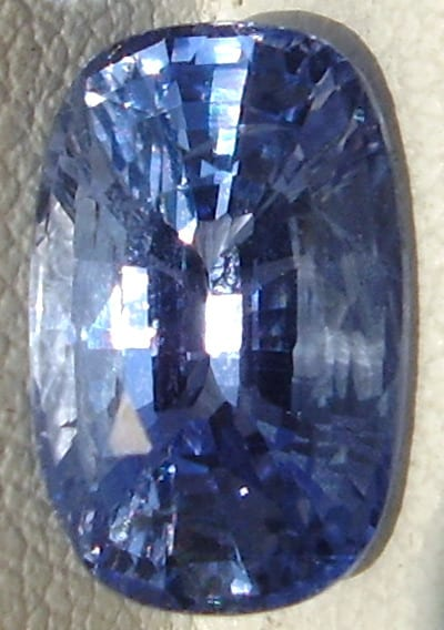 Cushion Cut Ceylon Blue Sapphire Gemstone