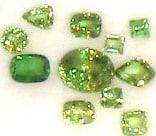 Tsavorite Garnet Gemstones