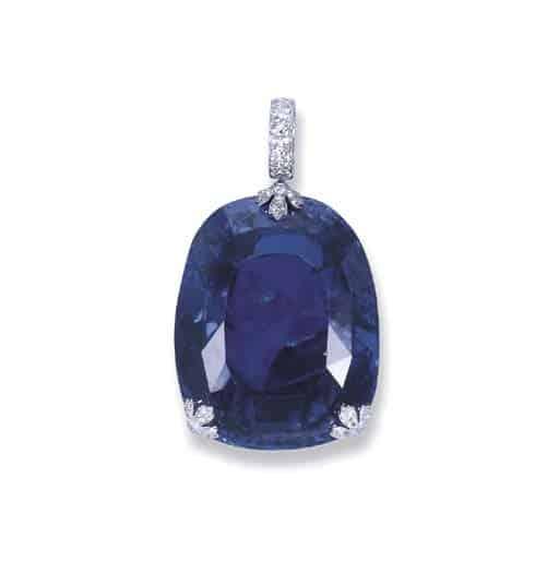 Queem Marie of Romania's Sapphire