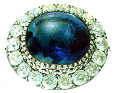 The Maria Alexandrovna Sapphire Brooch