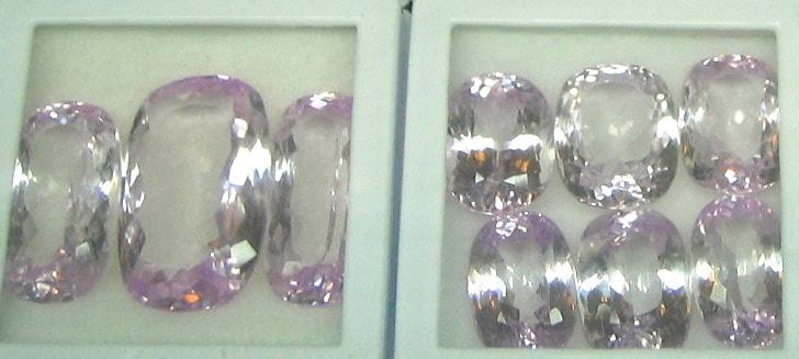 Cushion Cut Kunzite Gemstone