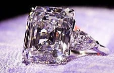 The 32-carat Emerald Cut White Diamond that sold for US$ 7.7 Million at Christie's