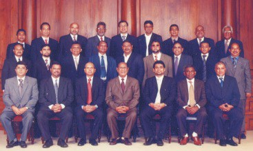 Sri Lanka Gem and Jewellery Association Executive Committee Members 2009/10