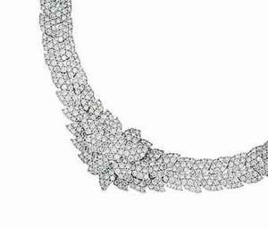 Top Lot of the Sale - Lot 92, A Diamond Necklace