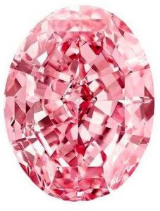 59.60-carat, oval mixed-cut, internally flawless, fancy vivid pink, Pink Star diamond