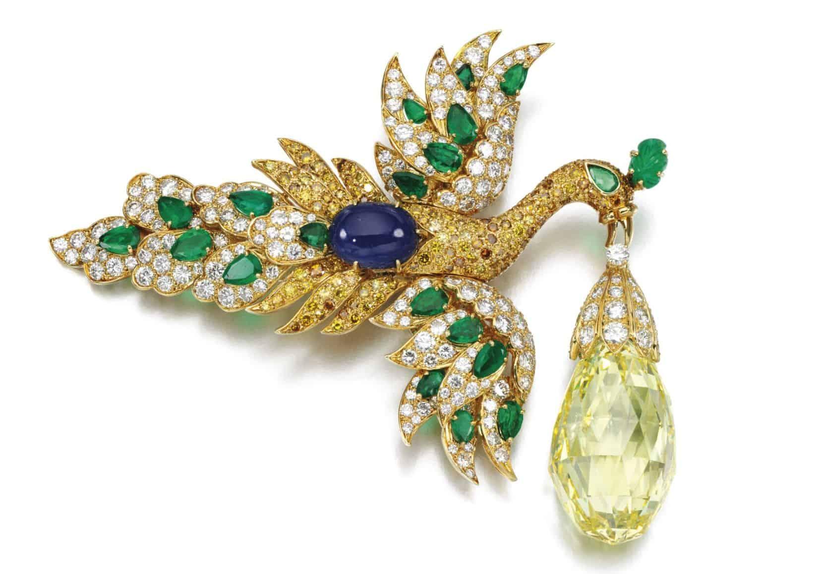 Madame Ganna Walska Diamond Brooch