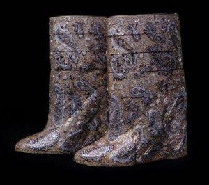 Diamond Boots by Vandevorst and Diarough