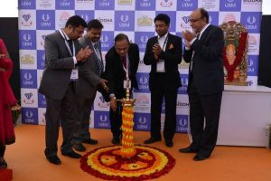 Inauguration of the Kolkata Jewelry andgem fair by Dr Krishna Gupta