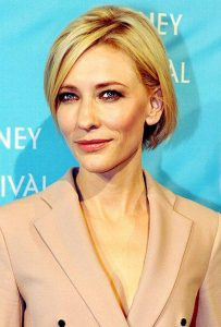 Cate Blanchett - Winner of best actress in a motion picture - drama -award
