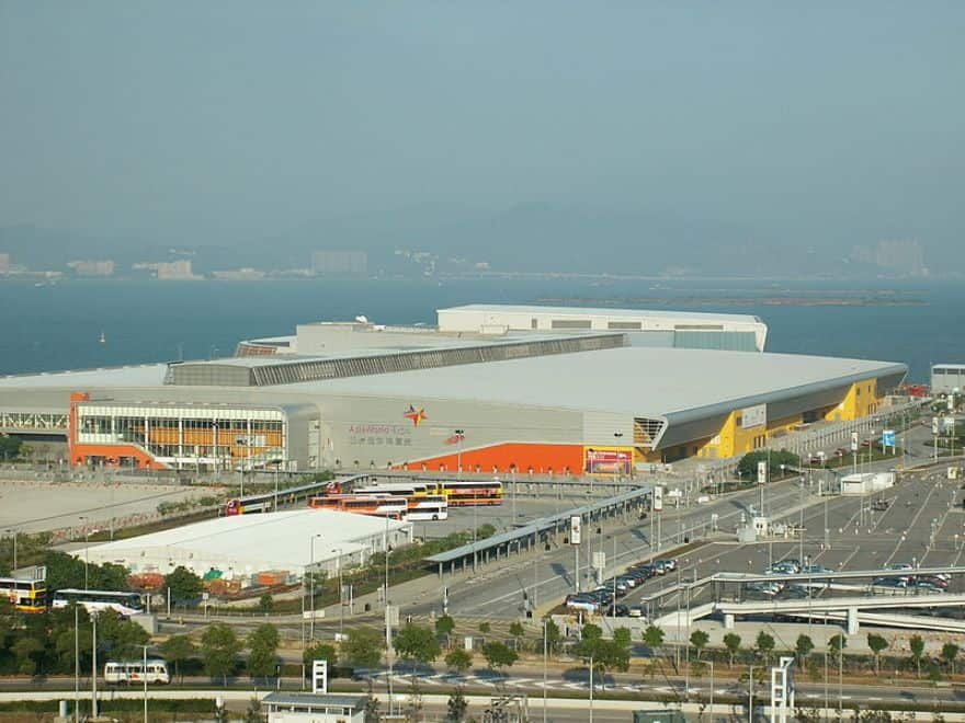 AsiaWorld-Expo, Venue of the Hong Kong International Diamond, Gem & Pearl Show