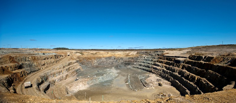 Victor Open-pit Diamond Mine