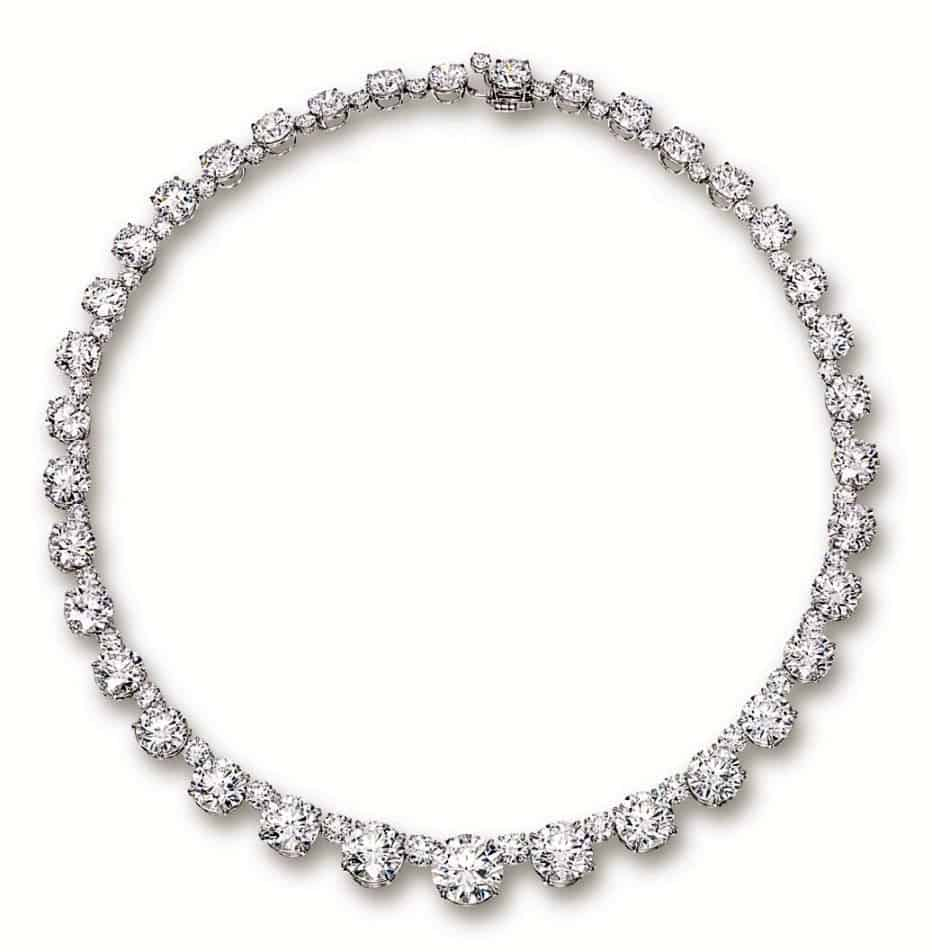 Riviere Diamond Necklace by Nirav Modi, which sold for US$ 5.1 million