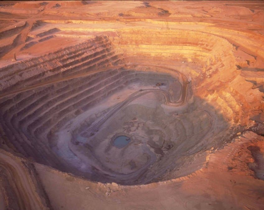 Jwaneng, Botswana, the richest diamond mine in the world, by value