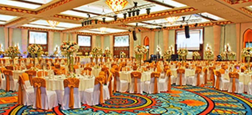 Atlantis Ballroom - Venue of the dedicated studded jewelry area