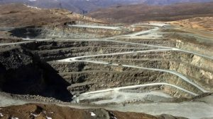Letseng la Terai open-pit diamond mine