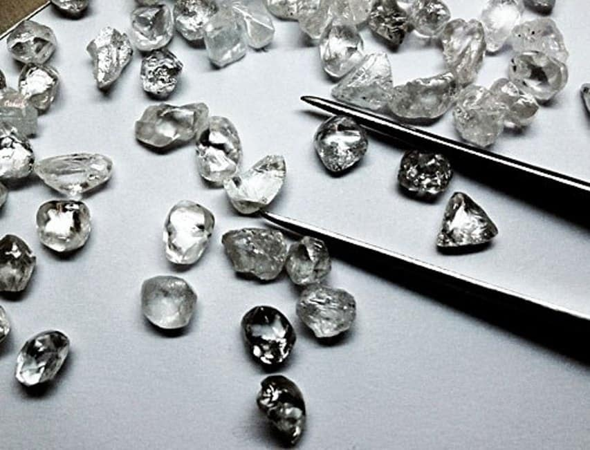 High-quality Karowe diamonds