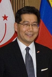 Mr. Gregory So Kam-leung, Secretary for Commerce and Economic  Development, Hong Kong