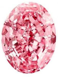 """The """"Pink Star"""" diamond whose sale was cancelled by Sotheby's"""