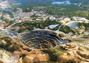 Rio Tinto's Murowa Diamond Mine in Zimbabwe