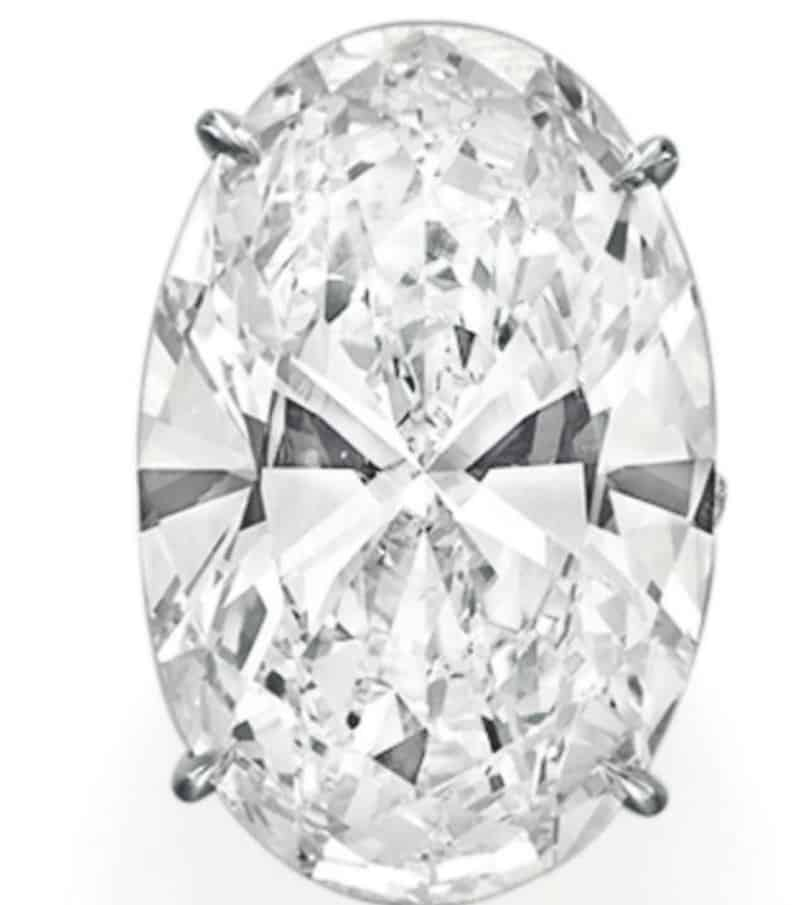 Lot 107-A Spectacular Diamond Ring