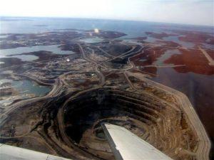 Rio Tinto's Diavik Mine in Canada