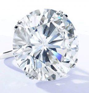 103.46-carat, round brilliant-cut Graff diamond