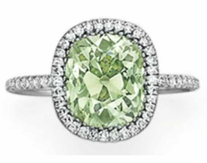 Lot 95 - Colored Diamond Ring by JAR