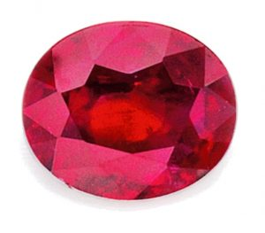 Lot 419 - Unmounted 4.25-carat, oval-shaped Mogok ruby