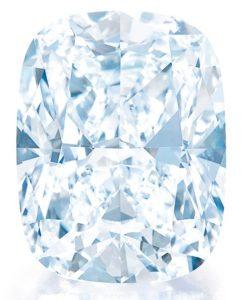 Lot 500 - 70.33-carat, cushion brilliant-cut, flawless, D-color diamond