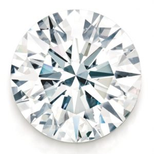Lot 487 - 25.32-carat, round brilliant-cut, internally flawless, D-color diamond set world record for price-per-carat for a round brilliant-cut colorless diamond