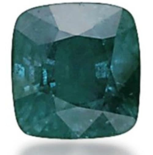 Lot 224 - 21.41-carat, cushion-cut, Russian alexandrite when exposed to sunlight