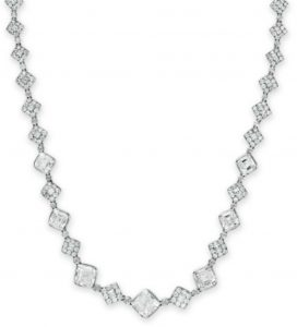 "Lot 202 - Diamond ""Legacy"" Necklace  by Tiffant & Co."